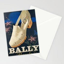 retro Plakat bally pergola bally Stationery Cards