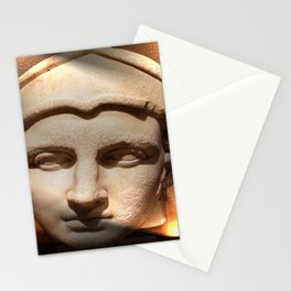 Lighted Antiquity Stationery Cards