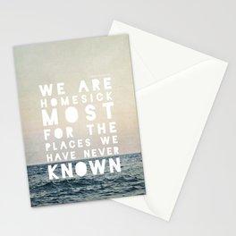 Homesick Stationery Cards