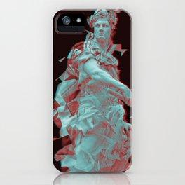 Julius Caesar, Veni Vidi Vici vaporwave/synthwave statue iPhone Case