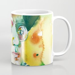 FRITZ LANG - watercolor portrait.2 Coffee Mug