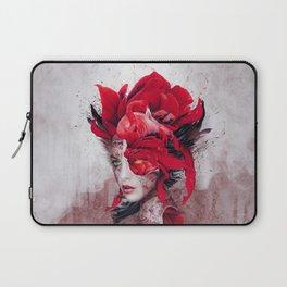 Flamingo Lady Laptop Sleeve