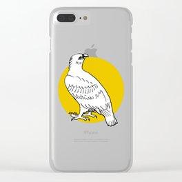hawk Clear iPhone Case