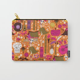 Tiki Freaks do the Hulaween Carry-All Pouch