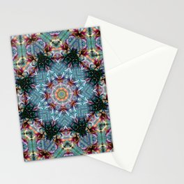 KALEIDOSCOPE LILY ELODIE 2 BLOSSOM ABSTRACT Stationery Cards