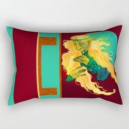 Clarice the Warrior Rectangular Pillow