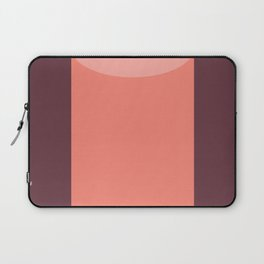 Cylinder Burgundy Pink Laptop Sleeve