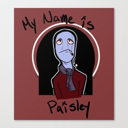 Pasiley Canvas Print