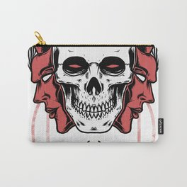 Devil skull Carry-All Pouch