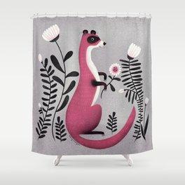 FERRET Shower Curtain