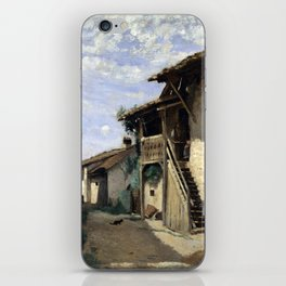 Camille Corot A Village Street iPhone Skin