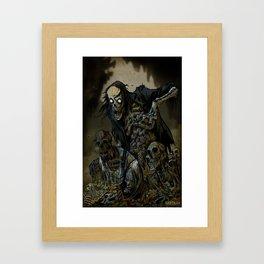 BORN OF MUD Framed Art Print