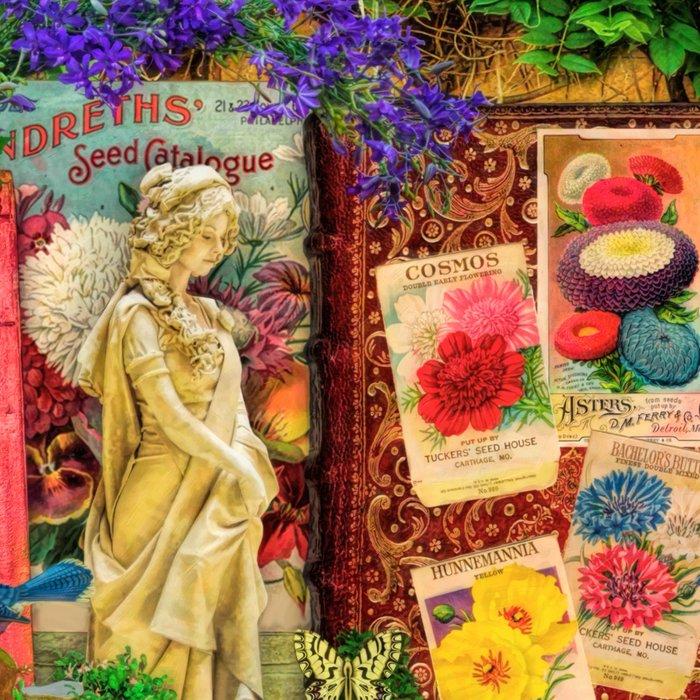The Secret Garden Book Shelf Leggings