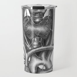 Now that he recognized himself as a dead man it became important to stay alive as long as possible. Travel Mug