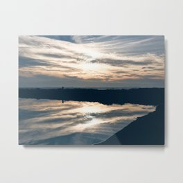 BLUE MOON XII / Alviso, California Metal Print