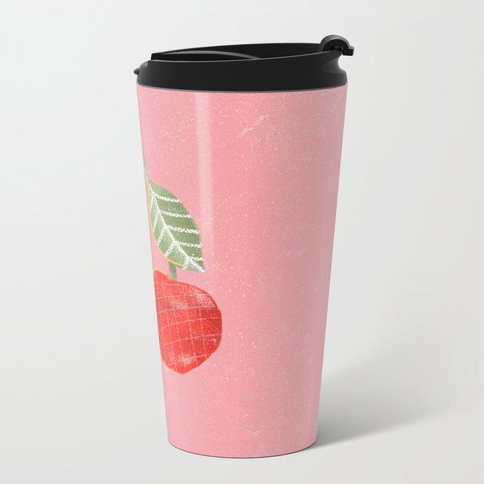 Yummi Cherry Metal Travel Mug