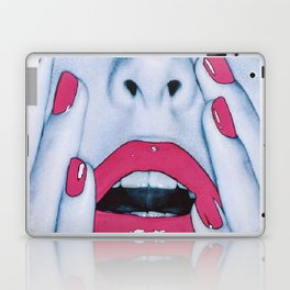 Pink Lips Laptop & iPad Skin