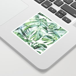 Tropical Palm Leaves Sticker
