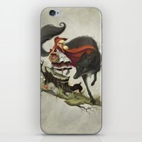 "evil iPhone & iPod Skins featuring ""Unto an evil counsellor, close heart and ear and eye..."" by Dave E. Phillips"