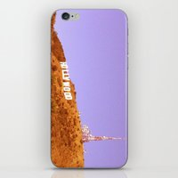 hollywood iPhone & iPod Skins featuring Hollywood by Rosy Sunrise