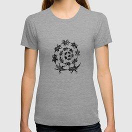 Spiraling Lizards T-shirt