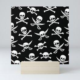 Pirateskulls Mini Art Print