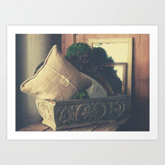 Home & Garden Art Print