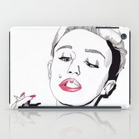 miley cyrus iPad Cases featuring Miley Cyrus by ☿ cactei ☿