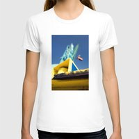 crane T-shirts featuring crane by dclick