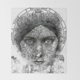 The Eyes of Alchemy Throw Blanket