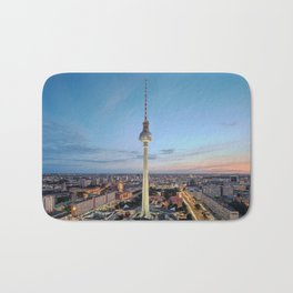 Berlin TV Tower Bath Mat