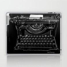 Old Typewriter Laptop & iPad Skin