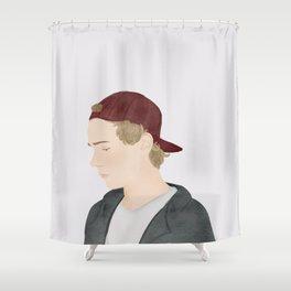 Skam | Isak Valtersen Shower Curtain