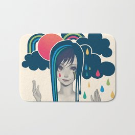 Sun And Rain Bath Mat
