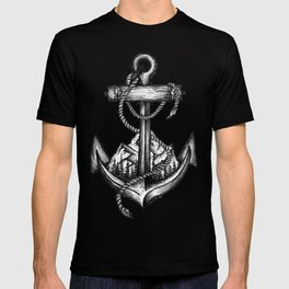 Anchor landscape T-shirt