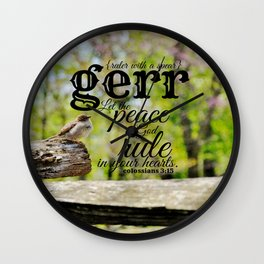 Gerr name  Wall Clock