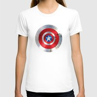 agents of shield T-shirts featuring SHIELD by Smart Friend