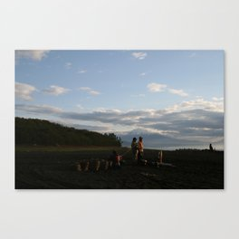 Mount Fuji From Miho   FOUR Canvas Print