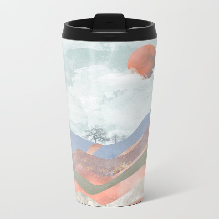 Journey to the Clouds Metal Travel Mug