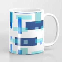 Blue Block City Coffee Mug