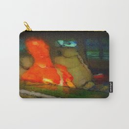 Alien Bob Goes To The Movies Carry-All Pouch