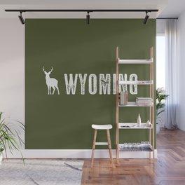 Deer: Wyoming Wall Mural