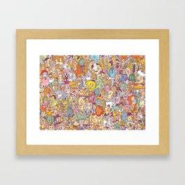 flapdoodle Framed Art Print
