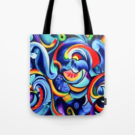 Hurricanes of the Mind Tote Bag