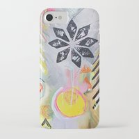"flora bowley iPhone & iPod Cases featuring ""Intermix"" Original Painting by Flora Bowley by Flora Bowley"