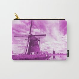 Pink Windpump Carry-All Pouch