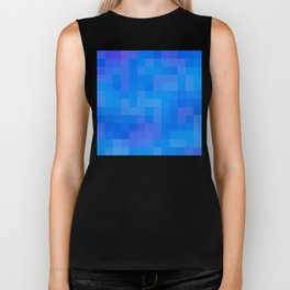 Re-Created Colored Squares No. 60 by Robert S. Lee Biker Tank