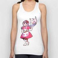 bee and puppycat Tank Tops featuring bee & puppycat by SERAPHIC ROYALTY