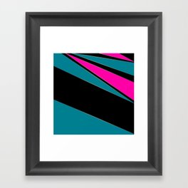 Combined geometric pattern 1 Framed Art Print