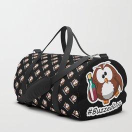 #BuzzedLife Drunk Owl Duffle Bag
